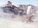 Kusatu Onsen : Town veiled in clouds of steam