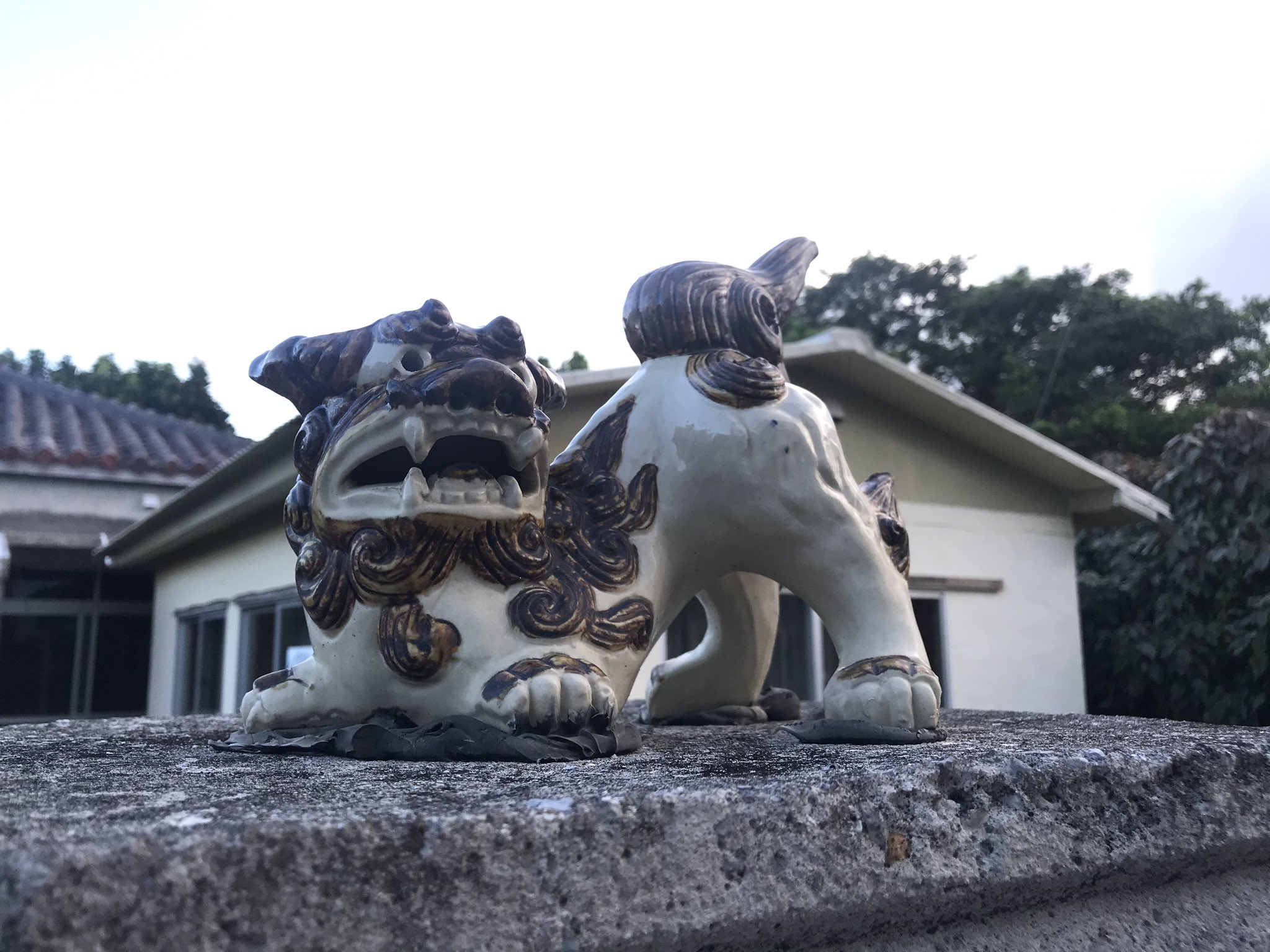 Pottery shisa