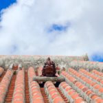 Shisa on the roof