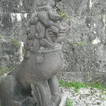 Shisa in Shuri Castle